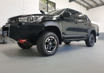 Toyota hilux paint protection package